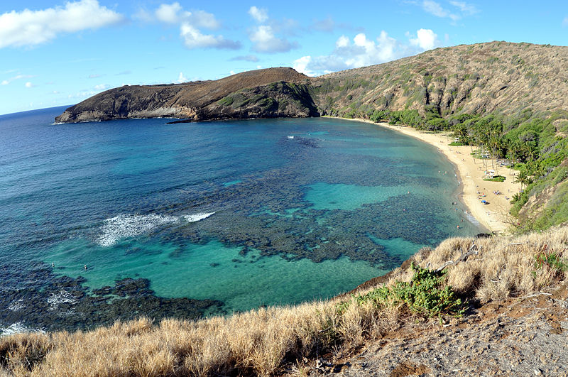 Snorkeling and the Beach at Hanauma Bay in Oahu