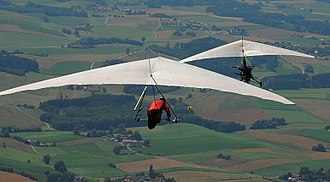 Cross-country flying - Hang gliding