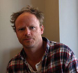 Harald Eia på boksignering i Bergen.