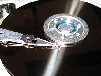 Magnet - Hard disk drives record data on a thin magnetic coating