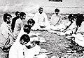 Haricharan Bandopadhyay with the students.jpg