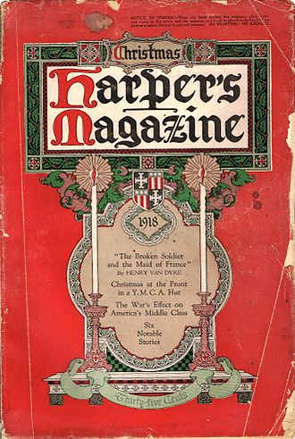 Collective work (US) - Harper's Magazine cover (1918)