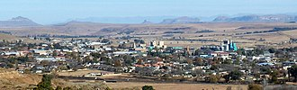 Harrismith - View from the north