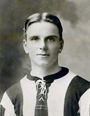 Harold Crockford - Crockford while with Exeter City in 1922.