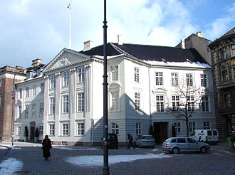 Harsdorff House - The Harsdorff House viewed from Kongens Nytorv