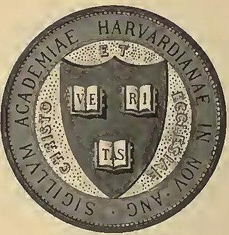 Heraldry of Harvard University - Variant of the Harvard seal
