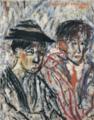 HasegawaToshiyuki-1932-Two Silent Film Orators.png