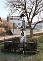 Haselbach - Bildstock, Dorfplatz.JPG
