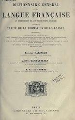 Hatzfeld - Dictionnaire, 1890, T1, Intro.djvu