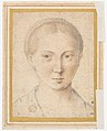 Head of Bearded Man (recto); Head of a Girl (verso) MET DP159675.jpg
