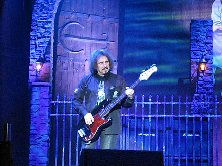 Following a performance in 1990, both Ronnie James Dio and Geezer Butler expressed interest in rejoining Black Sabbath. Heaven And Hell 4.jpg