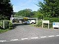 Height restriction barrier at the Civic Centre staff car park - geograph.org.uk - 797269.jpg