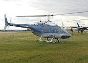 Bell 206B JetRanger III helicopter
