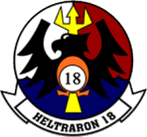 HT-18 - Image: Helicopter Training Squadron 18 (US Navy) insignia 2016