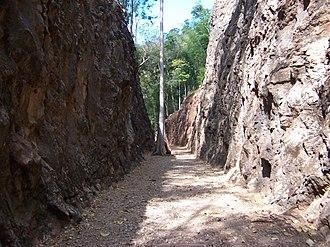 Hellfire Pass - The Pass in 2006