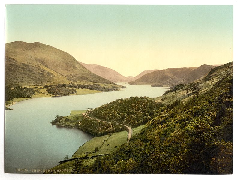 File:Helvellyn and Thirlmere, Lake District, England-LCCN2002696867.jpg