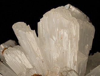 "Hemimorphite - Hemimorphite ""spray"" of crystals from Durango, Mexico (size: 2.9 x 2.1 x 2.0 cm)"