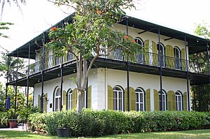 Ernest Hemingway's house- Key West, FL.
