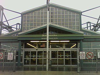 Nassau Inter-County Express - The Hempstead Transit Center sees service from 21 different routes.