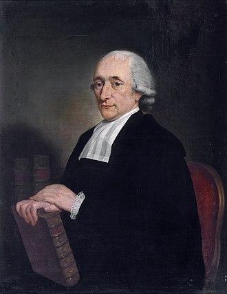 Amsterdam University Library - Hendrik Constantijn Cras (1739-1820), by Adriaan de Lelie (1755-1820)
