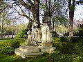 Henri Désiré Gauquié-Monument à Watteau-Jardin du Luxembourg.jpg