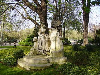 Jard de luxemburg viquip dia l 39 enciclop dia lliure - Jardin du luxembourg enfant ...