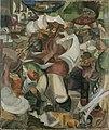 Henri Le Fauconnier, 1911-12, Le Chasseur (The Huntsman), oil on canvas, 203 x 166.5 cm.jpg