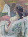 Henri de Toulouse-Lautrec (French - The Model Resting - Google Art Project.jpg