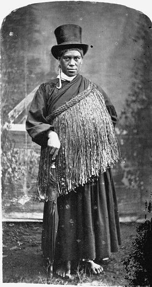 Tāwhiao - Image: Hera, principal wife of Tawhiao