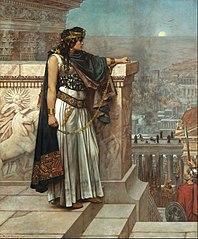 Zenobia's last look on Palmyra