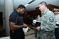 Herschel Walker at Camp Withycombe, 2012 010 (8454305085) (6).jpg
