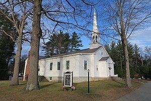 Hill, New Hampshire - Image: Hill Village Bible Church, Hill NH