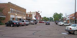Hinckley, Minnesota - Main Street in downtown Hinckley in 2007