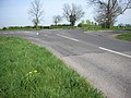 Hinwick Road crossing the Roman Road - geograph.org.uk - 404213.jpg