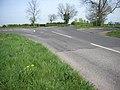 Hinwick Road crossing the Roman Road - geograph.org.uk - 404213.jpg