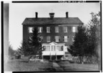 Historic American Buildings Survey, N.D., WEST (FRONT) ELEVATION, Gift of New York State Department of Education. - Shaker West Family Main Dwelling House, Watervliet Shaker Road, HABS NY,1-COL,2-2.tif