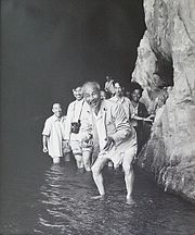 Ho Chi Minh at Lijang River (China) in 1961
