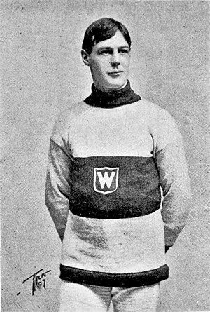 Hod Stuart - Stuart with the Montreal Wanderers.