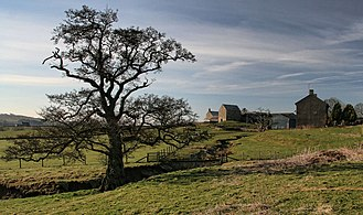 Bellingham, Northumberland - Hole Farm and Bastle