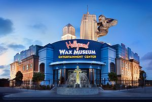 Hollywood Wax Museum Myrtle Beach - Image: Hollywood Wax Museum Myrtle Beach SC