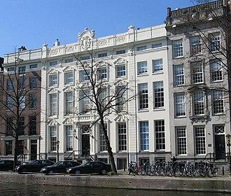 Adriaan van der Hoop - The former mansion of Adriaan van der Hoop on Keizersgracht (the white one)