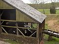 Hopewell furnace mill sluice exterior 2009 HPIM3242.jpg