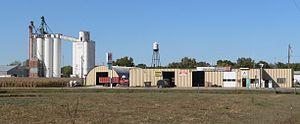 Hordville, Nebraska - Hordville, seen from the south