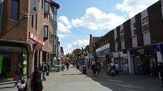 Horsham - West Street, Horsham, 2009