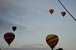 Hot air balloons over Canberra 1.JPG