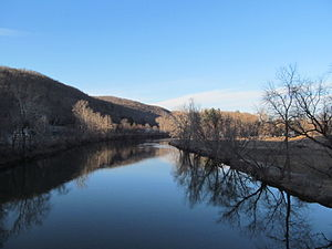 Housatonic Valley - Housatonic River in Kent, Connecticut