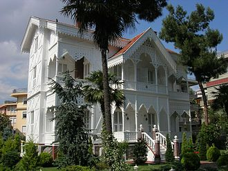Treaty of San Stefano - The Treaty was signed in this house of the Simeonoglou family in Yeşilköy.