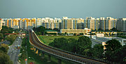 Housing and Development Board flats near Woodlands Avenue 7, Singapore