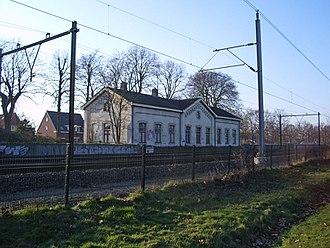 Houten - Image: Houten oude station (februari 2006)