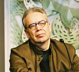 Howard Shore - Shore at a press conference for The Lord of the Rings in Wellington, New Zealand, 2003